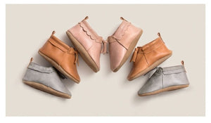 Pretty Brave Capsule Collection- Pink moccasins