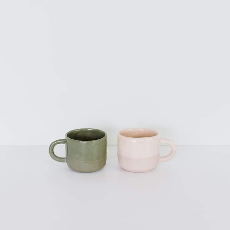 JS ceramics Earthware mugs - Handmade in New Zealand