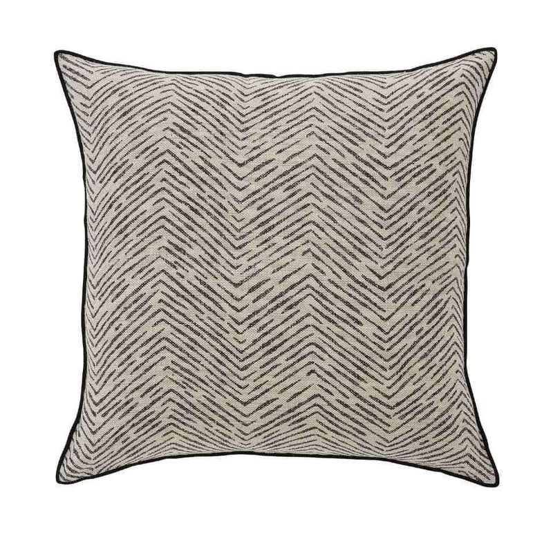 Weave Home - Carillo cushion Onyx