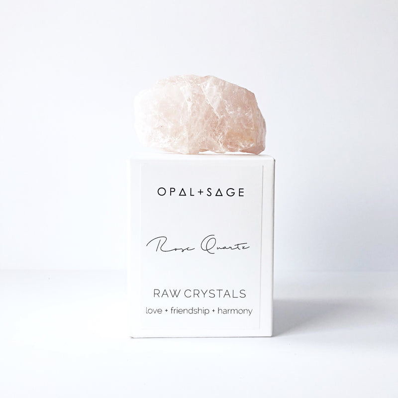 Opal + Sage Raw Crystals