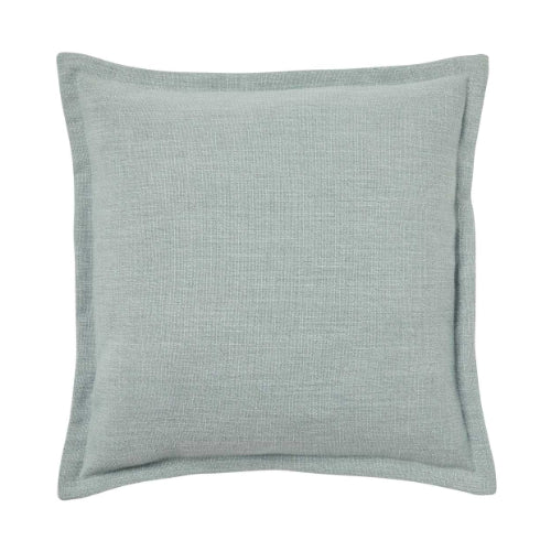 Weave Home- Austin Seafoam Linen blend cushion