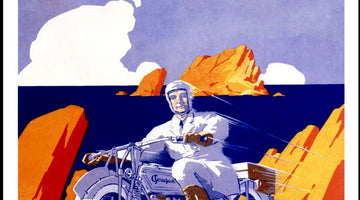 A RIDE THROUGH 100 YEARS OF MOTORCYCLE ADVERTISING