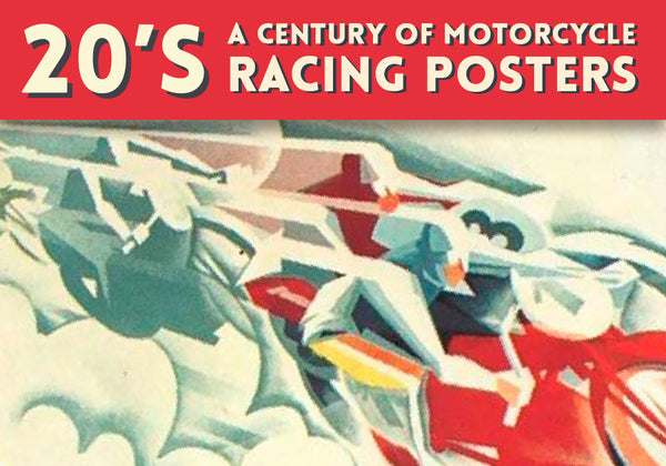 20's motorcycle racing posters