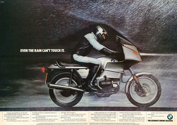 BMW - Even the rain can't touch it