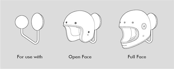 Halley wall helmet rack suitable open face full face helmets