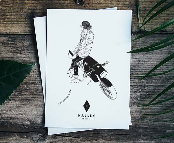 Halley-Accessories-Postcard-2