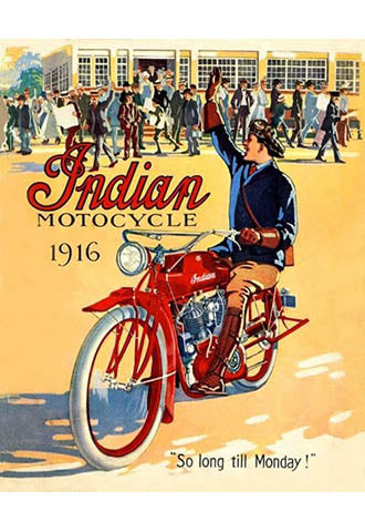Indian 1916 - So long till Monday