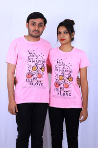 Graphics Fell In Love T shirt by T shirt factory india