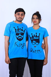 Graphics King Queen t shirt by tshirt factory india