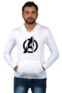 Men's Stylish Avenger Licra Hoodie For Summer (Combo Of 3)