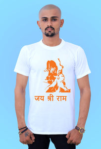 comfortable Jay Shree Ram t shirt by tshirt factory india