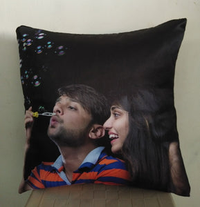 Personalised Cushion Online at best price in Gujarat, India-Personalized Cushions by tshirt factory india