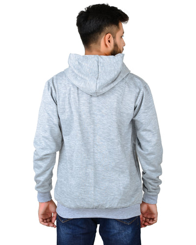 Unisex Regular Fit Vetran Printed Cotton Hoodie