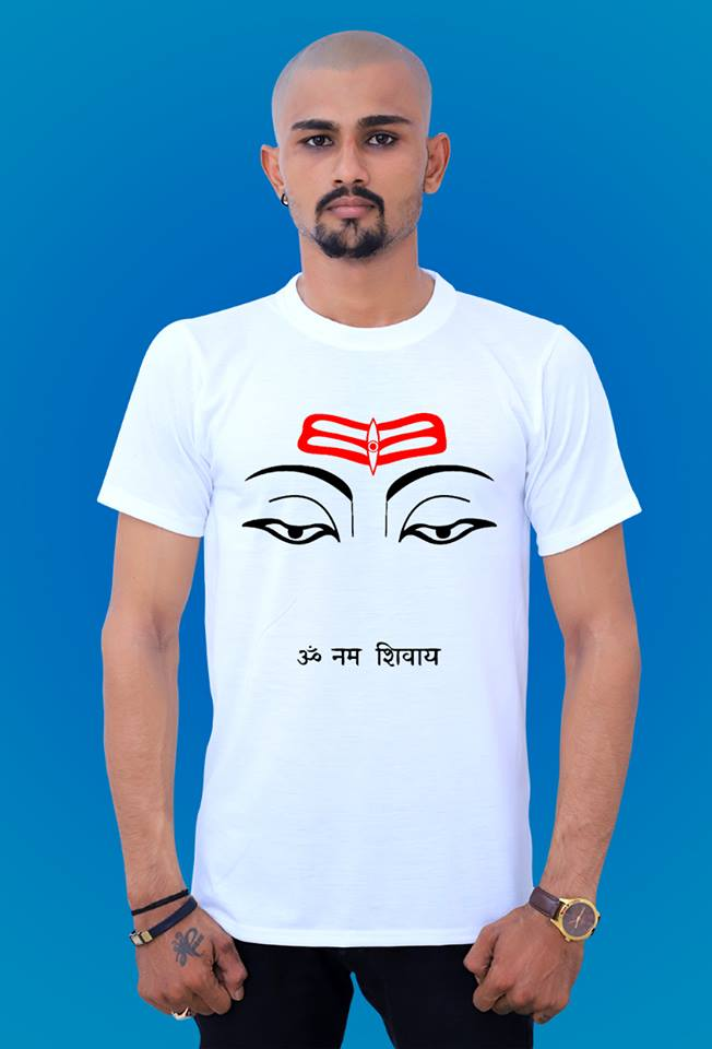 om nam shivay t shirt by tshirt factory india