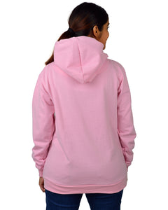 Women,s Regular Fit marchmelo Printed Cotton Hoodie