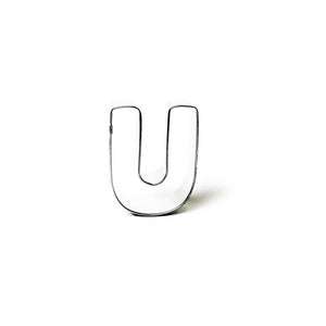 "Cookie Cutter - Letter ""U"" 7cm"