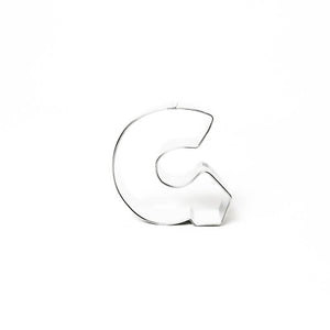 "Cookie Cutter - Letter ""G"" 7cm"