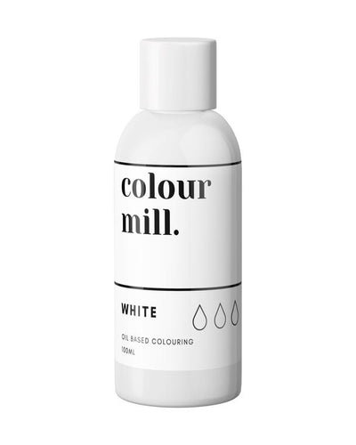 Oil Based Colouring 100ml White
