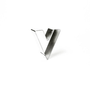 "Cookie Cutter - Letter ""V"" 7cm"