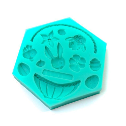 Silicone Mould - Easter Elements