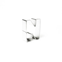 "Load image into Gallery viewer, Cookie Cutter - Letter ""N"" 7cm"