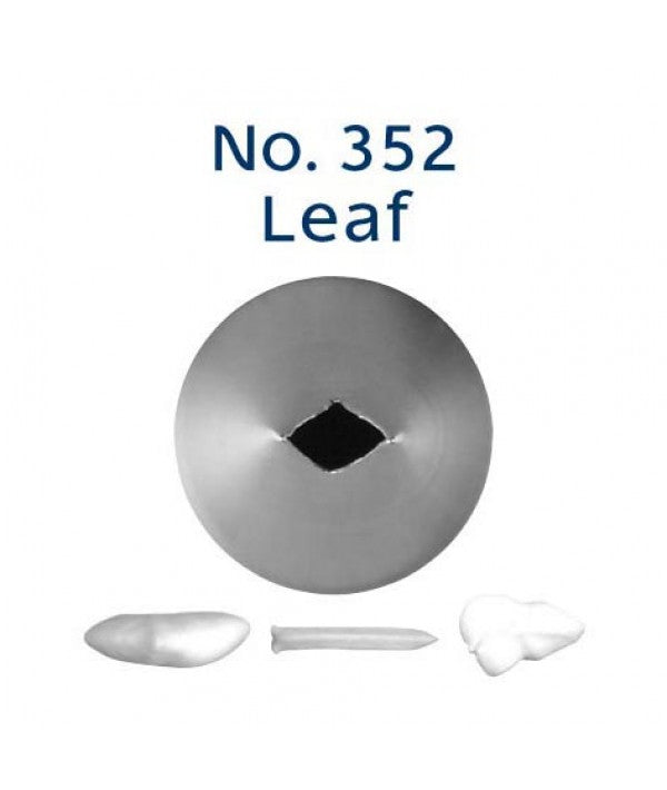 Piping Tip Stainless Steel Leaf Standard No. 352