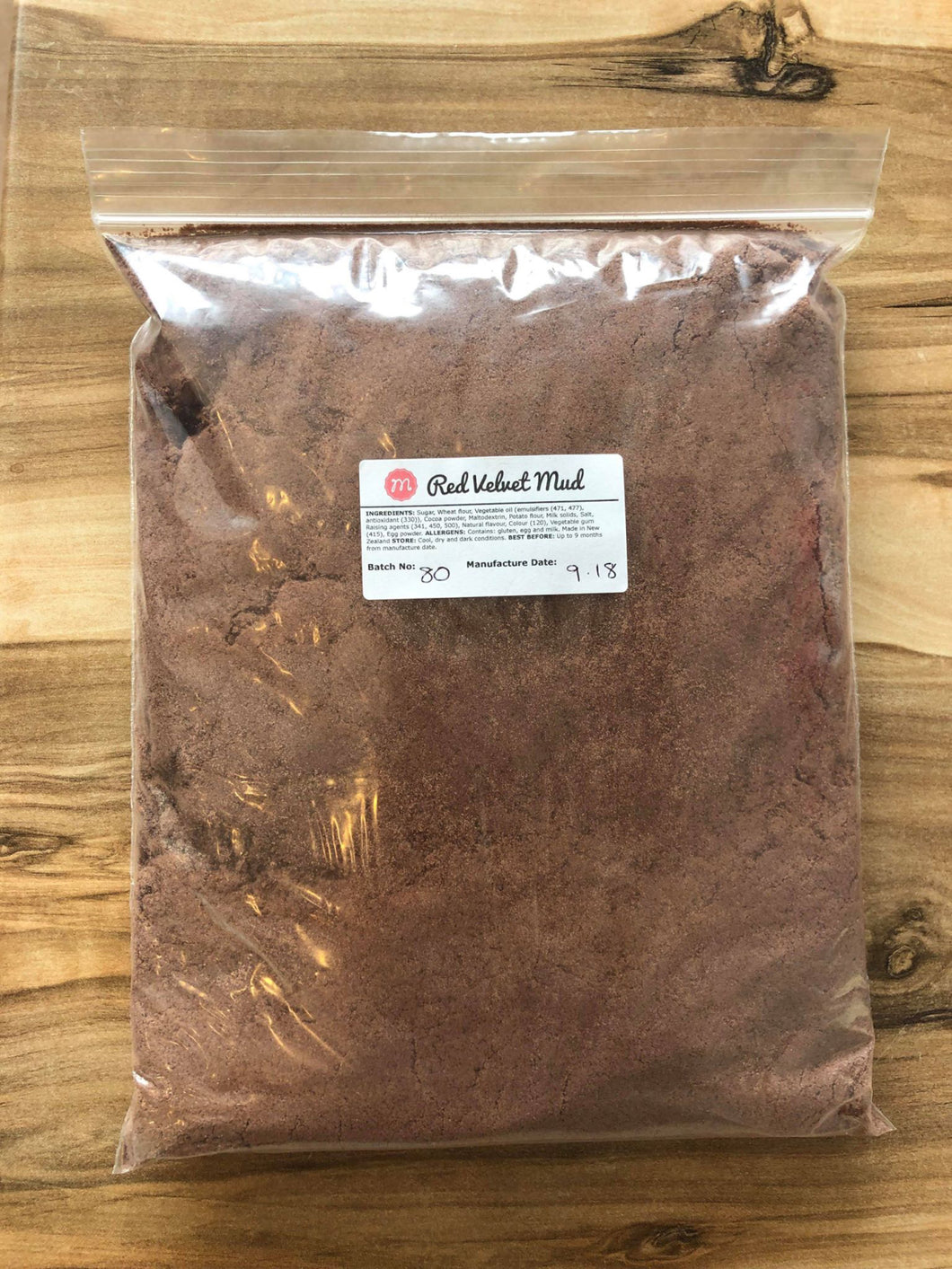 Cake Mix 1kg - Red Velvet Mud