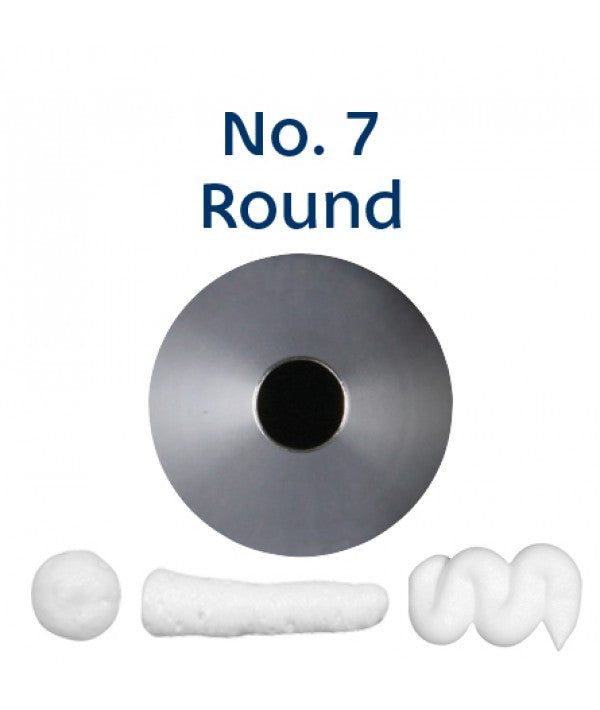 Piping Tip Stainless Steel Round Standard No. 7