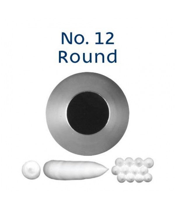 Piping Tip Stainless Steel Round Standard No. 12