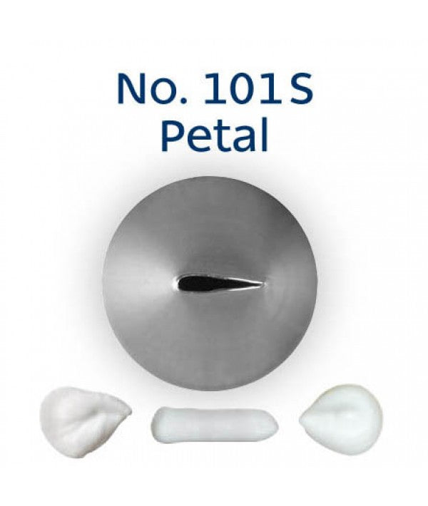 Piping Tip Stainless Steel Petal Standard No. 101S