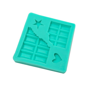 Silicone Mould - Chocolate Block Mini