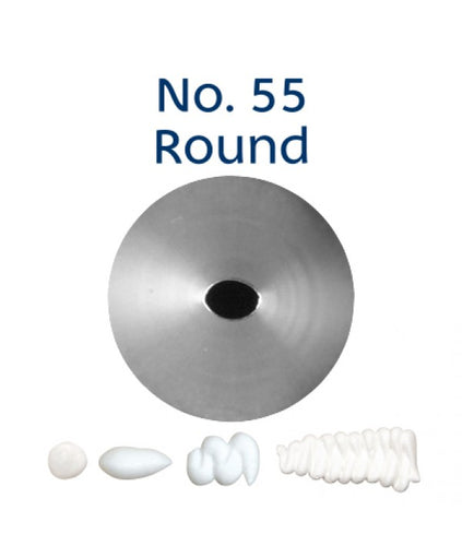 Piping Tip Stainless Steel Round Standard No. 55