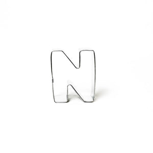 "Cookie Cutter - Letter ""N"" 7cm"