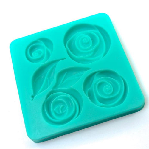 Silicone Mould - Contemporary Rose