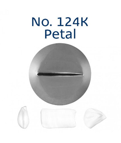 Piping Tip Stainless Steel Petal Medium No. 124K