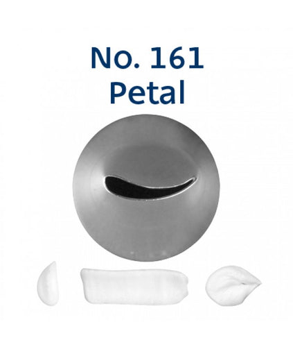 Piping Tip Stainless Steel Petal Standard No. 161