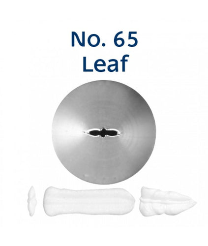 Piping Tip Stainless Steel Leaf Standard No. 65