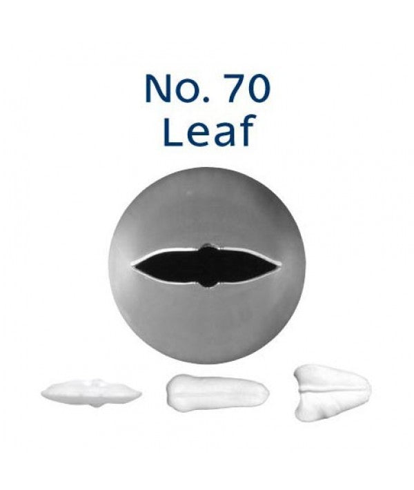 Piping Tip Stainless Steel Leaf Standard No. 70