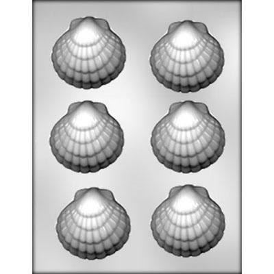 Chocolate Mould (Plastic) - Sea Shells Large