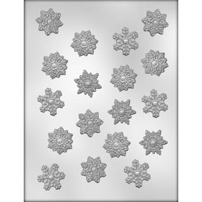 Chocolate Mould (Plastic) - Snowflakes