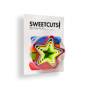 Cookie Cutter - Star set of 5