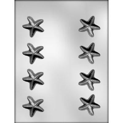 Chocolate Mould (Plastic) - Starfish