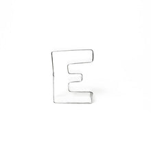 "Load image into Gallery viewer, Cookie Cutter - Letter ""E"" 7cm"