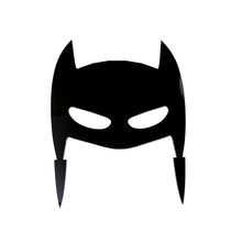 Load image into Gallery viewer, Cake Topper - Mask Hero Black Acrylic