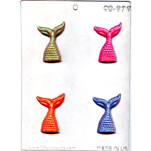 Chocolate Mould (Plastic) - Mermaid Tail