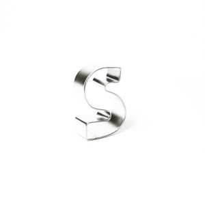 "Cookie Cutter - Letter ""S"" 7cm"