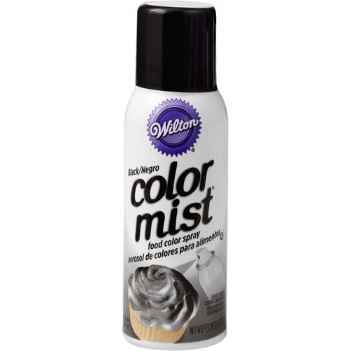 Color Mist Food Color Spray 43g - Black