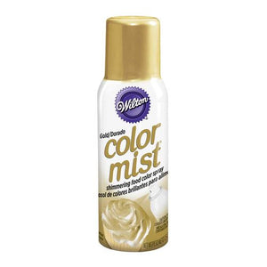 Color Mist Food Color Spray 43g - Gold