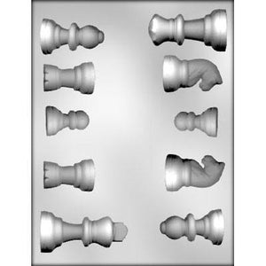 Chocolate Mould (Plastic) - Chess Pieces