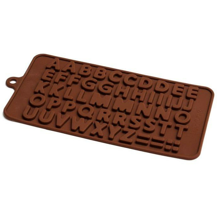 Chocolate Mould (Silicone) - Alphabet